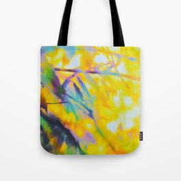 Yellow Untitled Tote Bag