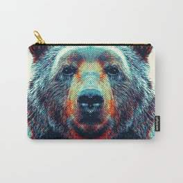 Bear - Colorful Animals Carry-All Pouch