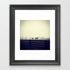 Horses of the Mist Framed Art Print
