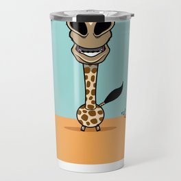 bobble giraffe Travel Mug