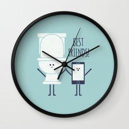 BFFS Wall Clock