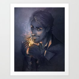 Glimmer-light Art Print