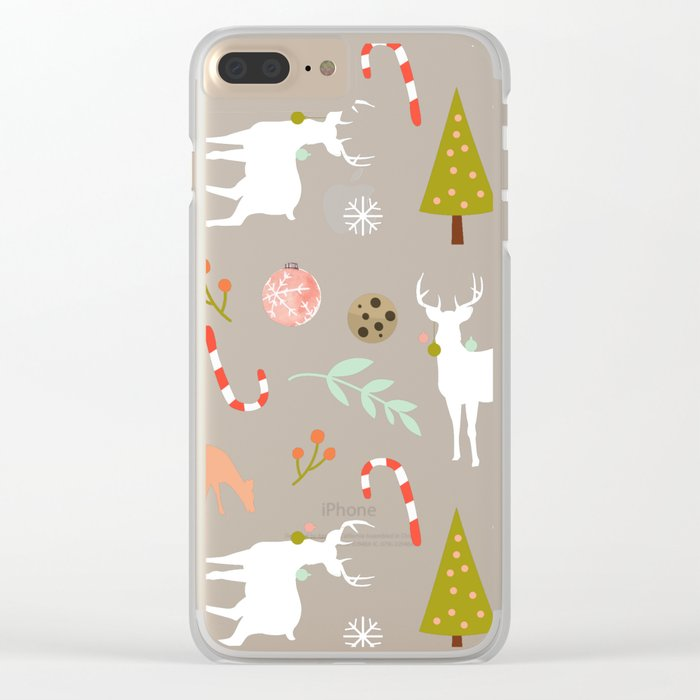 Christmas Spirit #society6 #decor #buyart Clear iPhone Case
