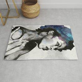 Miseducation: Lauryn Hill tribute portrait Rug