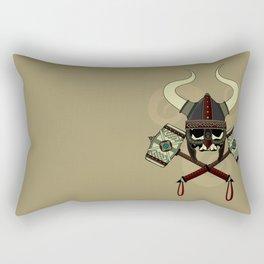 Viking skull Rectangular Pillow