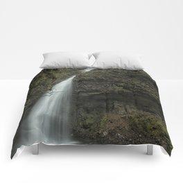 Upper Latourell Falls, No. 1 Comforters