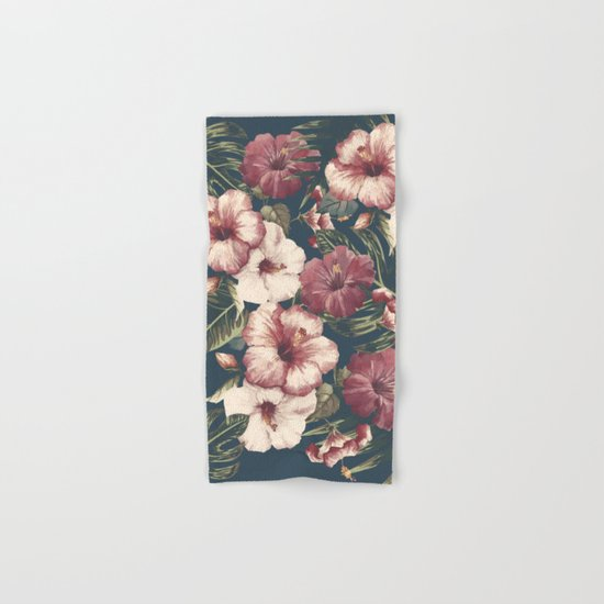 Flower pattern A Hand & Bath Towel
