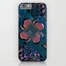 Gnarled Rose iPhone Case