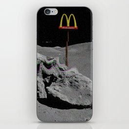 Mcdonalds aesthetic vhs iPhone Skin