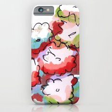 Saturated Flowers Slim Case iPhone 6s