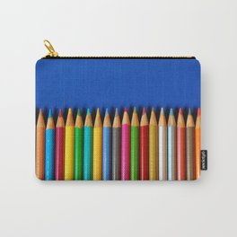 Colorful pencil crayons Carry-All Pouch