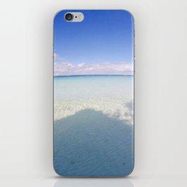 Boracay Sunshine blue iPhone Skin