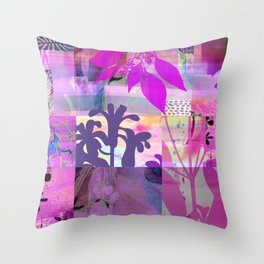 Verdant Island Throw Pillow