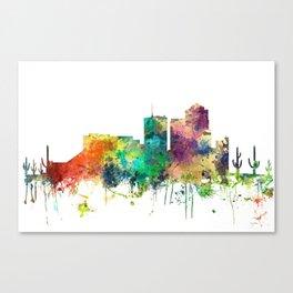 Tucson, Arizona Skyline SP Canvas Print