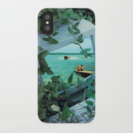 Living inside the box iPhone Case
