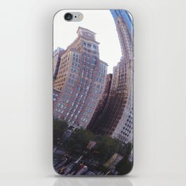 Reflecting, Chicago City in Cloud Gate iPhone Skin