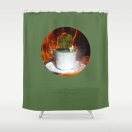 The Garden (This Burning World 3) Shower Curtain
