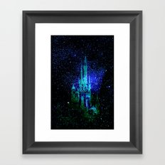 Dream castle. Fantasy Disney Framed Art Print