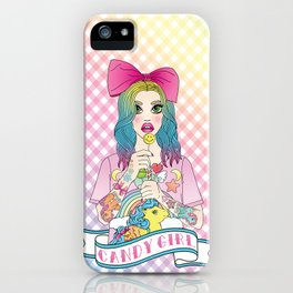 Candy Girl iPhone Case