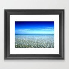 Sea Waves Framed Art Print