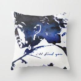 Glenn & Maggie Throw Pillow