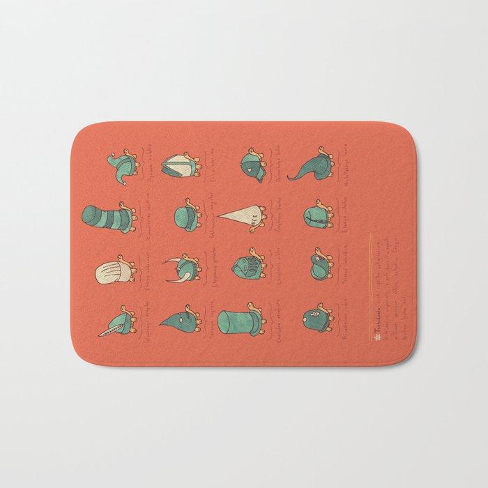 A Study of Turtles Bath Mat