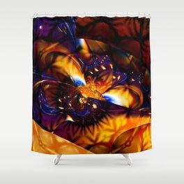 Fierce fantasy Shower Curtain