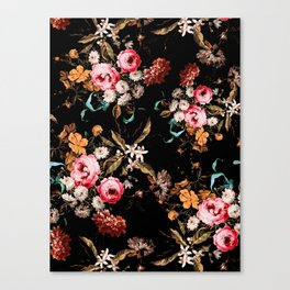 Midnight Garden IV Canvas Print