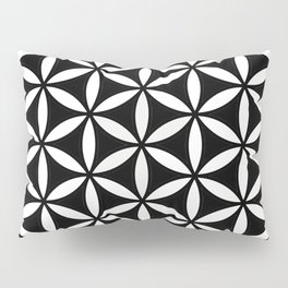 Flower of Life Yin Yang Pillow Sham