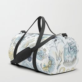Tattoo Pattern Duffle Bag