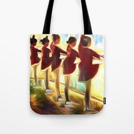 Dance Class Tote Bag