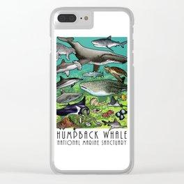 Hawaiian Islands Humpback Whale National Marine Sanctuary Clear iPhone Case