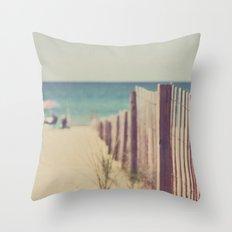 North Beach Throw Pillow