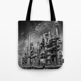Bethlehem Steel Blast Furnace 9 Tote Bag