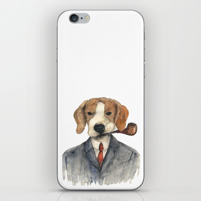 Monsieur Beagle iPhone Skin