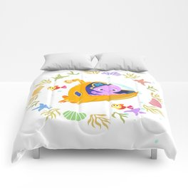 Under the sea with Captain Octo Comforters