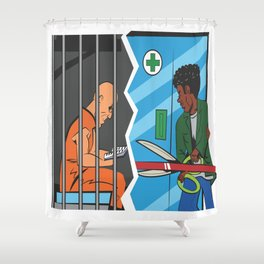 Reefer Happiness Shower Curtain
