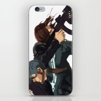 stucky iPhone & iPod Skins featuring Dammit Steve by MMCoconut