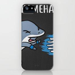 Kamehameha Shark iPhone Case