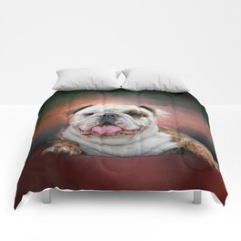 Hanging Out - Bulldog Comforters