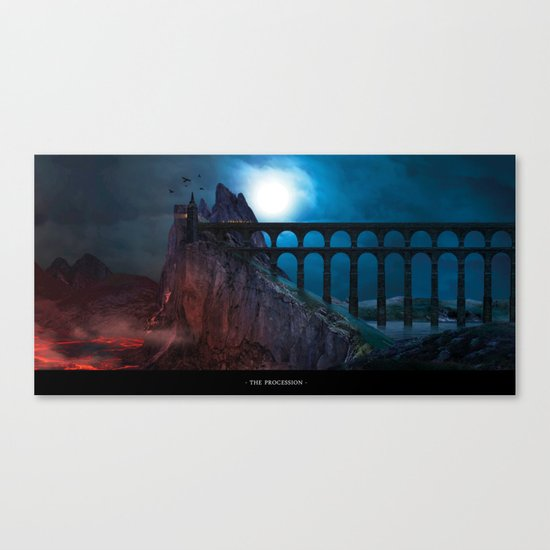 The Procession Canvas Print