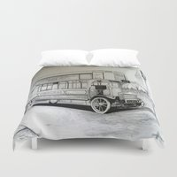 general Duvet Covers featuring General Stype by shannon's art space