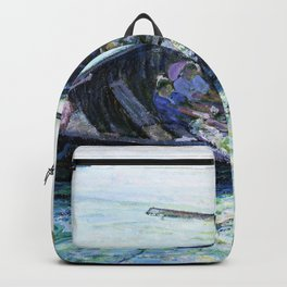 Henry Ossawa Tanner - The Miraculous Haul of Fishes - Digital Remastered Edition Backpack