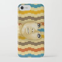 "erykah badu iPhone & iPod Cases featuring Badu ""The Gaze"" by Andre Woolery Art"