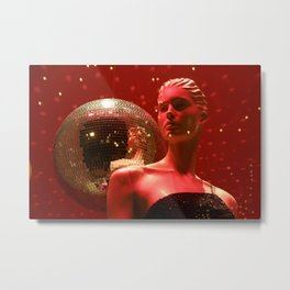 Mirrorball II. Metal Print