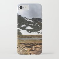 chris evans iPhone & iPod Cases featuring Mt. Evans, Colorado by Chris Root