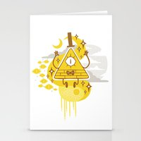 "bill Stationery Cards featuring ""Dreamsphere // Bill"" by Insane-Dorito"
