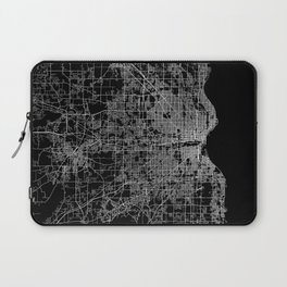 milwaukee map Laptop Sleeve