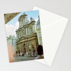Paris in 35mm Film: Eglise Saint-Paul-Saint-Louis in Le Marais Stationery Cards