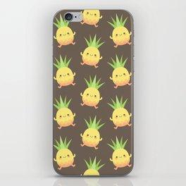 Happy pineapple kids iPhone Skin